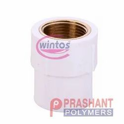 White UPVC Brass FTA