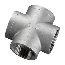 Stainless Steel Socket Weld Cross Fitting 321