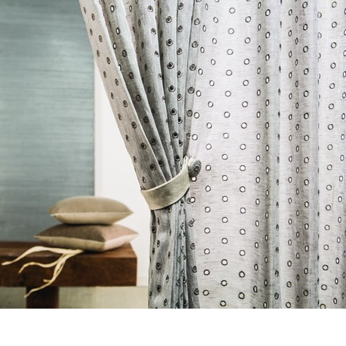 White And Beige Curtains