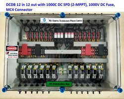 Solar DC Distribution Box 12 in 12 Out