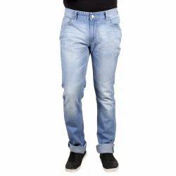 Blue Denim Numero Uno Low Waist Slim Fit Jeans