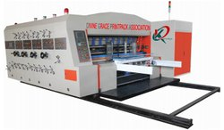 High Speed Flexo Printer Slotter Die Cutter