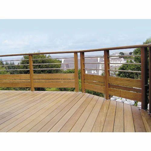 Roof Wooden Balcony