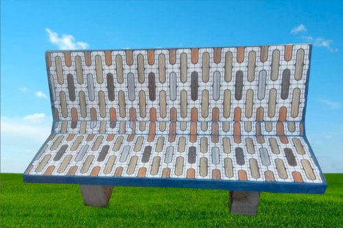Terrific Concrete Outdoor Tile Bench Uwap Interior Chair Design Uwaporg