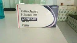 Aceclofenac Paracetamol Chlorzoxazone (Aceneb- Mr Tab.)