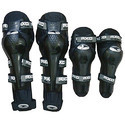 Motorcycle Riding Black Knee and Elbow Guards