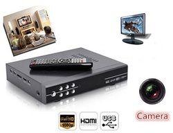 Spy Camera Hidden In Box DVR Pinhole