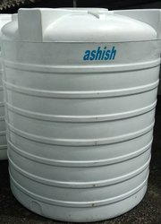 Ashish Triple Layer Water Storage Tank (  White & Black)