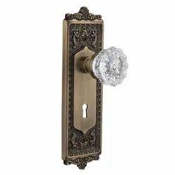 Stainless Steel Crystal Door Knob Lock