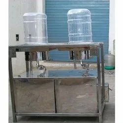 20 Ltr Semi Automatic Jar Washing Filling Machine