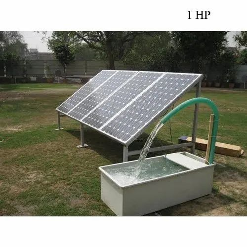 Single Phase 1hp Solar Water Pump For Agriculture Rs 54000 Piece Id 21459418897
