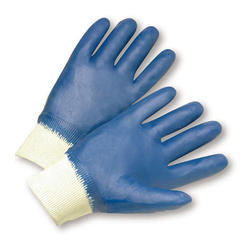Nitrile Safety Half Coated Gloves