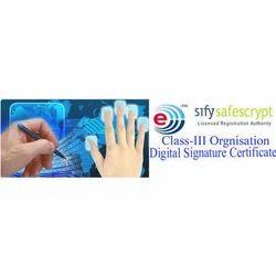 Class 3B Organization Digital Signature Certificate