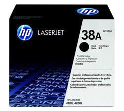 HP Q1338A 38A Black Toner Cartridge