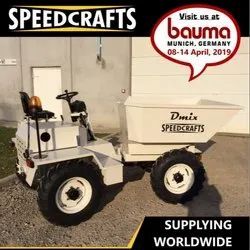 Speedcrafts DSD 3000 Site Mini Dumper, Power: 20.4 hp