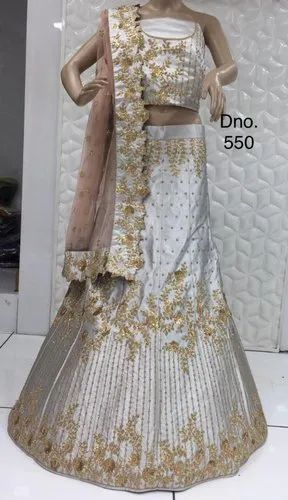 Semi Stitched Amazing Girlish Lehenga Choli With Gorgeous Design
