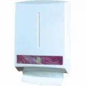 White Plastic Tissue Dispenser