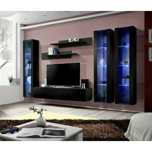 Wooden Designer Led Tv Cabinet