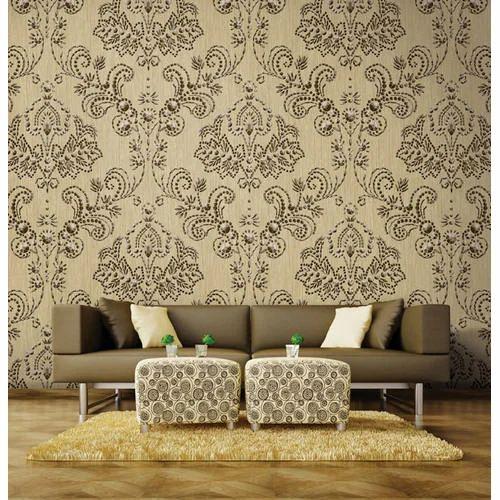 Pvc Printed Stylish Wallpaper Rs 2800 Roll Pristine Creations