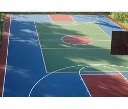 PU Basketball Court Flooring