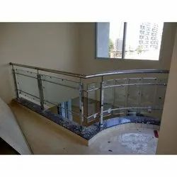 Bar SS Glass Railing for Home