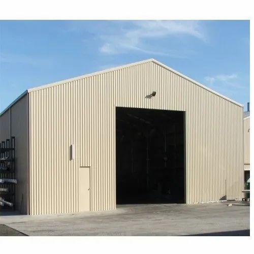 Steel Prefab Warehouse Shed