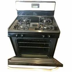 Stainless Steel Commercial Four Burner Gas Stove