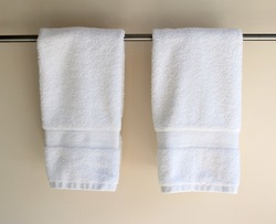 100% Cotton plain & printed hand towel, Squire, Size: 16*27