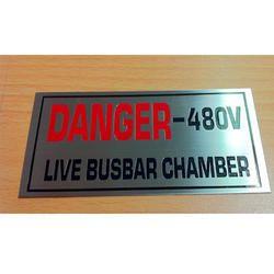 Metal Name Plate Signage