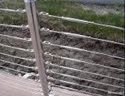 Balcony, Stairs Ss Wire Rope Railing Fitting