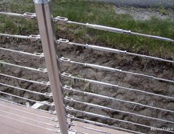 Balcony,Stairs SS Wire Rope Railing Fitting