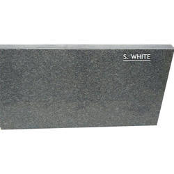 S White Granite Slab, for Flooring, Thickness: 2-3 cm