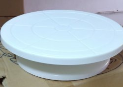 Plastic Turn Table, Size: 12