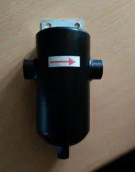 Black Moisture Separator, Size/Dimension: 1/4 to 1/2 inch