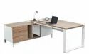 Veer Wooden L Shape Executive Office Table