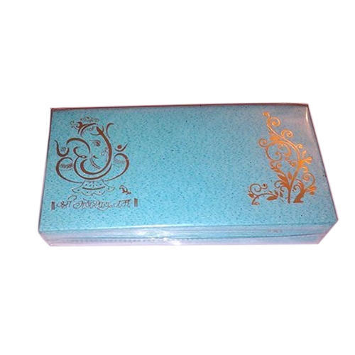 Sky Blue Shaadi Shagun Envelope