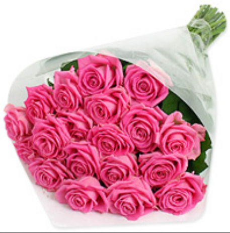 2 Dozen Pink Roses At Rs 750 Bunch Flower Bouquet Id 16579677448