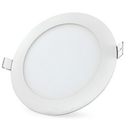 Cool White 5 W Round LED Panel Light, IP Rating: IP55