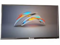 Black Metallic Gray Finish 32 Inch Smart TV