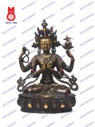 Karanchariya Sitting Statue