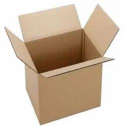 Cardboard Square 5 Ply Corrugated Box, Box Capacity: 8 kg