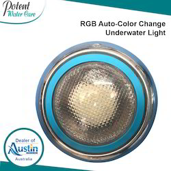 RGB Auto-Color Change Underwater Light