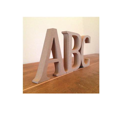 Wooden MDF Letters Laser Cutting Service