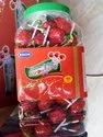 Round Strawberry Lollipop - 11 Gram, Packaging Type: Pouch And Jar