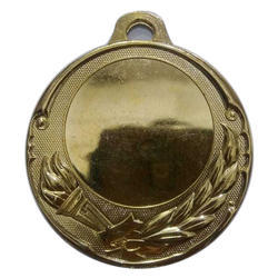6 mm Winning Embossed Gold Plated Medal