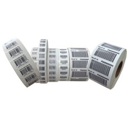 Printed Barcode Printing Rolls, Thickness: 0.05mm
