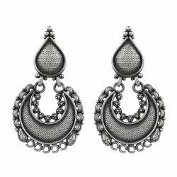 Pretty 925 Sterling Silver Earrings