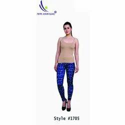 Pepejohns Lycra Ladies Printed Leggings