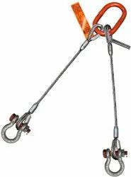 Two Legged Wire Rope Slings