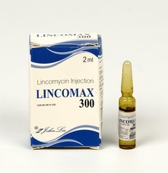 Lincomycin Hydrochloride 300 Mg Injections